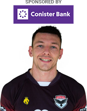 Lee Gale, sponsored by Conister Bank